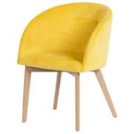 Трапезен стол Carmen 522 - жълт