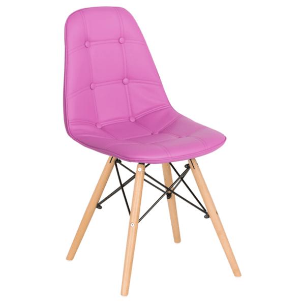 Трапезен стол Carmen 9962 - лилав