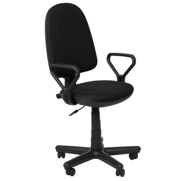 Офис стол Comfort - черен