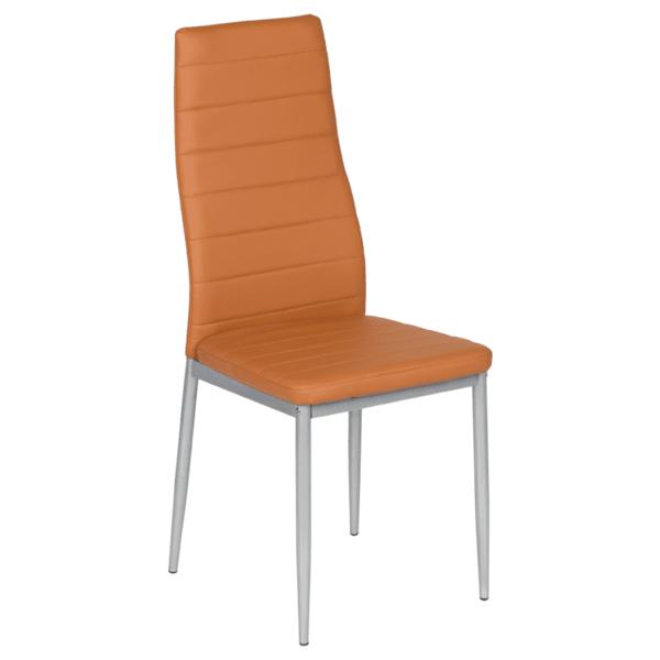 Трапезен стол Carmen 310 - тъмно оранжев