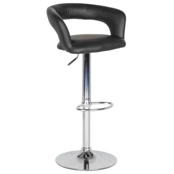 Бар стол Carmen 3068 - черен