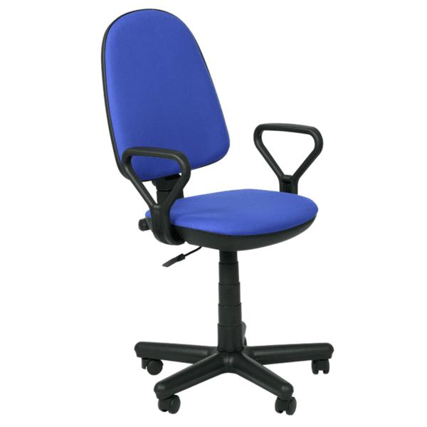 Офис стол Comfort - син