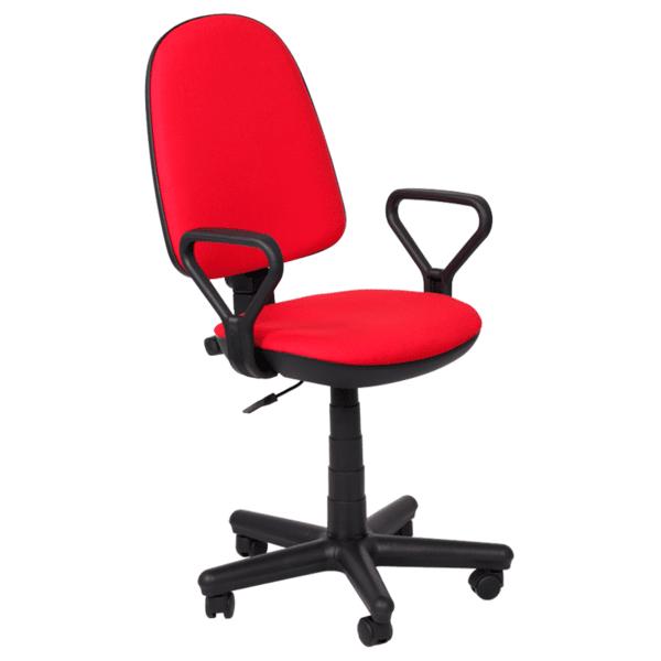Офис стол Comfort - червен