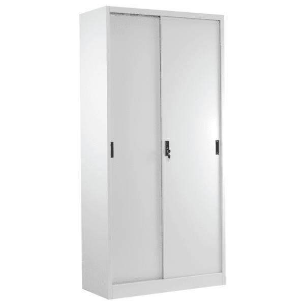 Метален шкаф Carmen CR-1266 L - сив