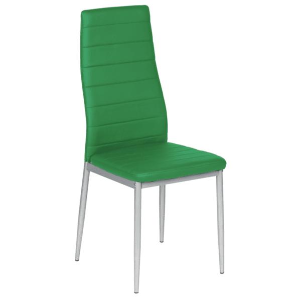 Трапезен стол Carmen 310 - зелен