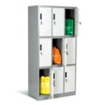Метален шкаф Carmen CR-1244 J LUX
