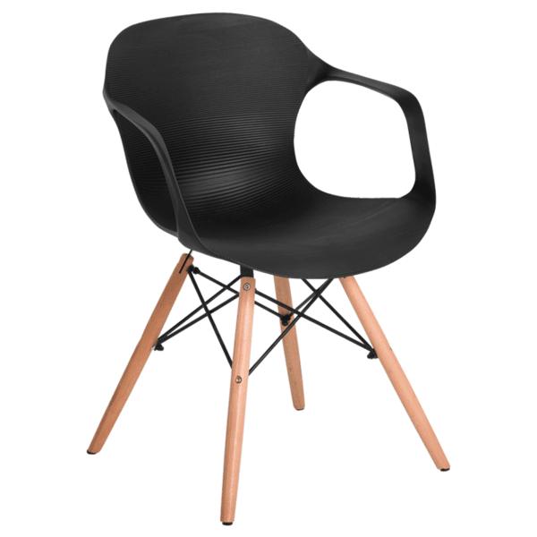 Трапезен стол Carmen 9964 - черен