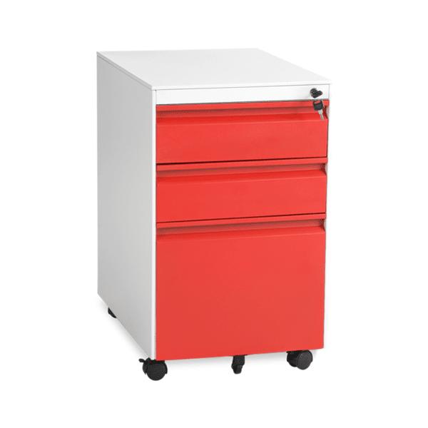 Офис контейнер Carmen CR-1249 L SAND - червен