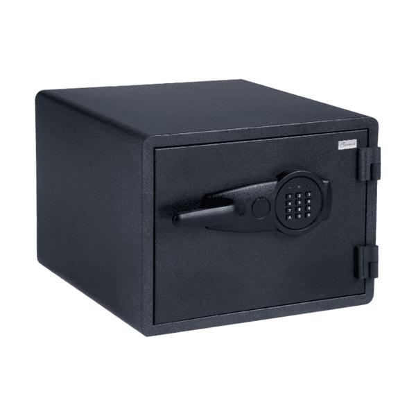Огнеупорен метален сейф Carmen CR-1552- черен