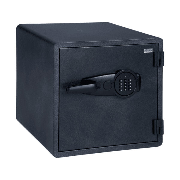 Огнеупорен метален сейф Carmen CR-1553 - черен