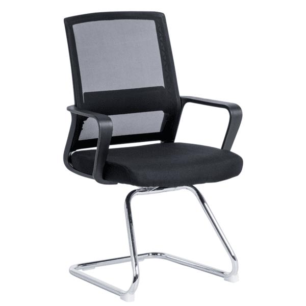 Посетителски стол Carmen 7036 - черен