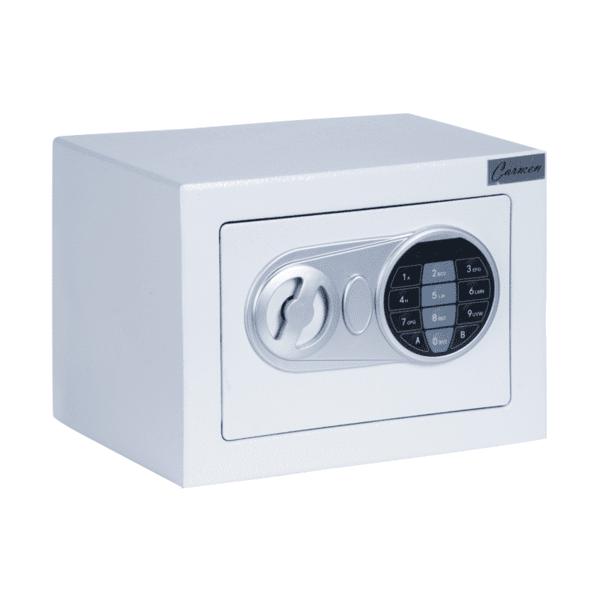 Метален сейф Carmen CR-1554 - бял