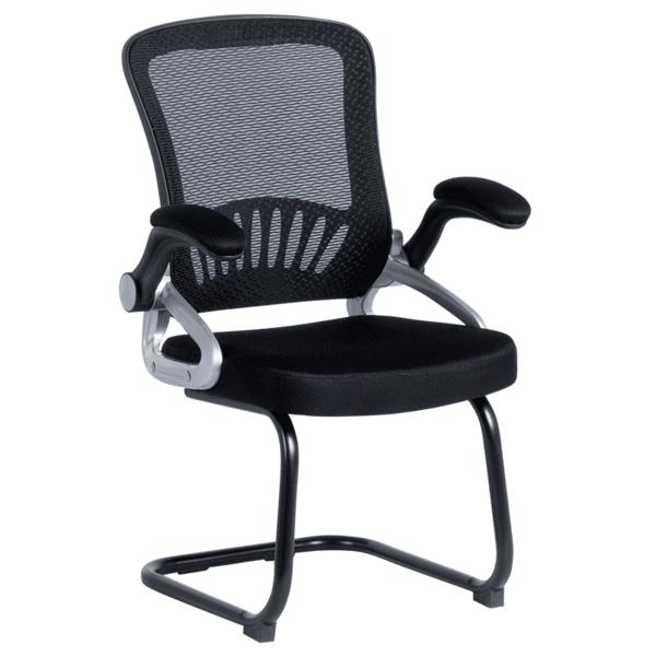 Посетителски стол Carmen 7037 - черен
