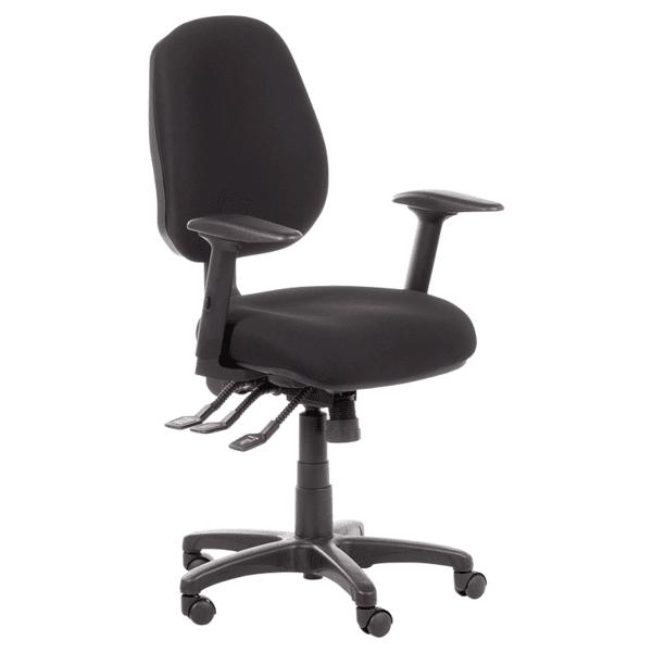 Работен офис стол DANILA - черен