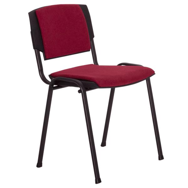 Посетителски стол PRIZMA LUX - бордо