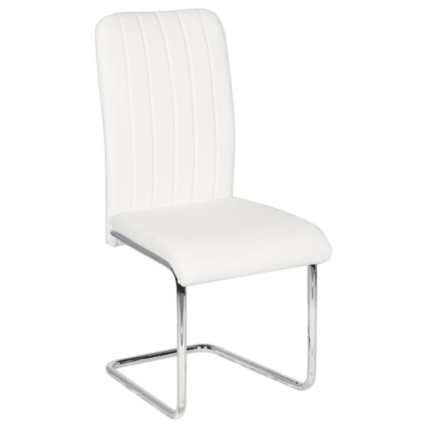 Трапезен стол Carmen 372 - бял