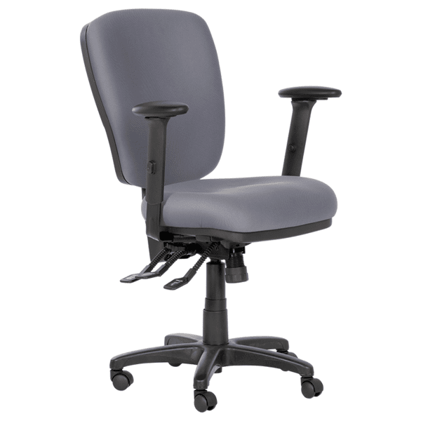Работен офис стол CLARA - сив