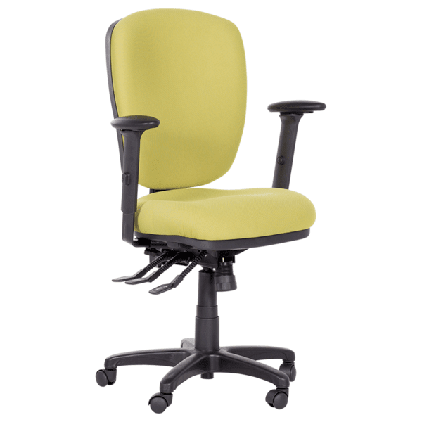 Работен офис стол CLARA - зелен
