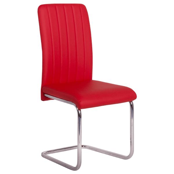 Трапезен стол Carmen 372 - червен