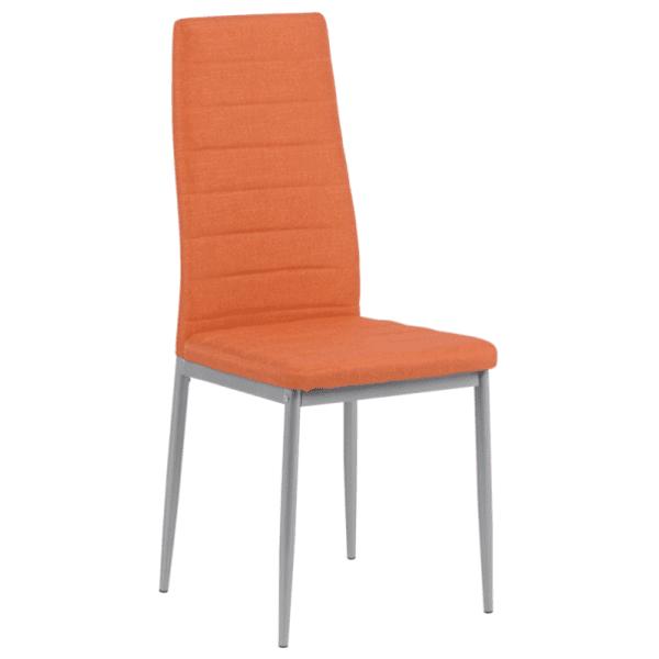 Трапезен стол Carmen 515 - оранжев