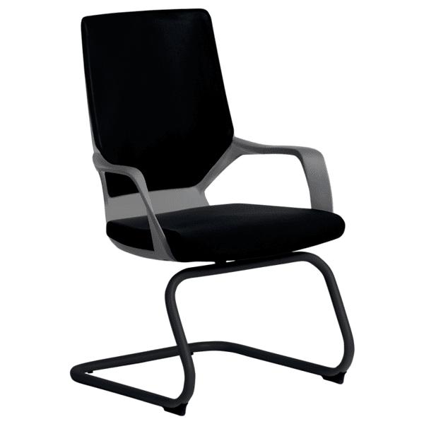 Посетителски стол GALA - черен