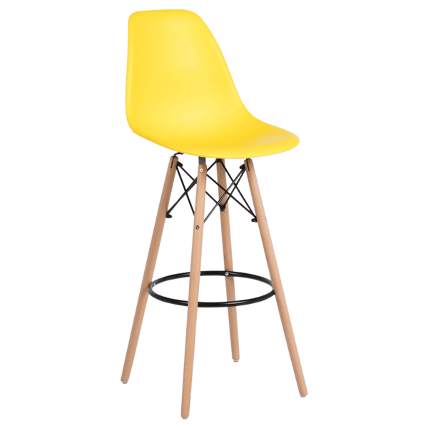 Бар стол Carmen 3079 - жълт