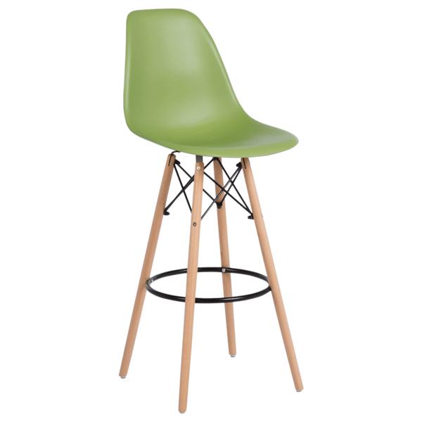 Бар стол Carmen 3079 - зелен