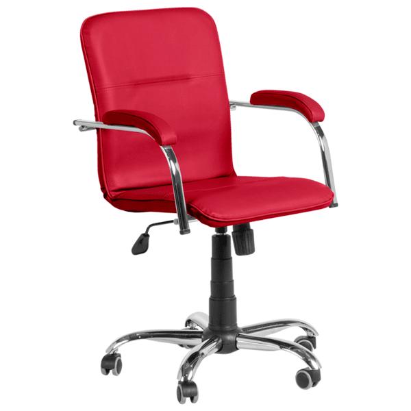 Работен офис стол SAMBA RC - червен SC