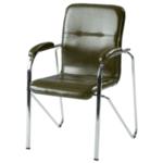 Посетителски стол Samba - маслено зелено