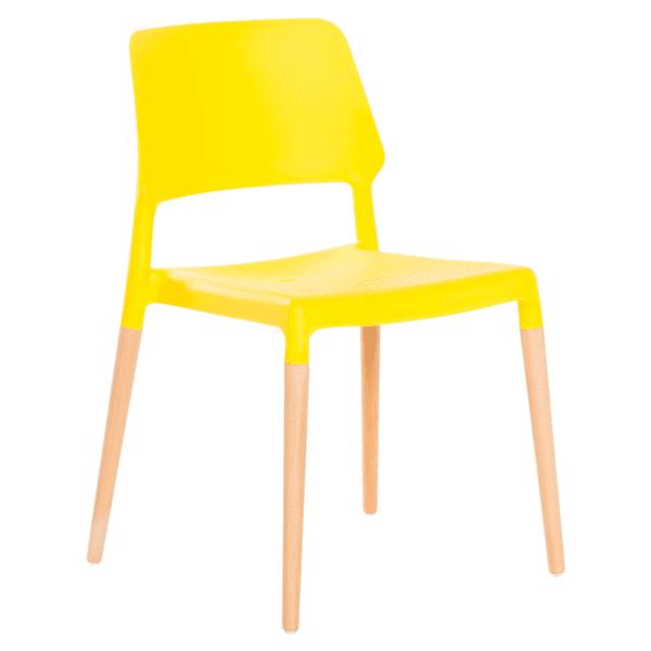 Трапезен стол Carmen 9967 - жълт