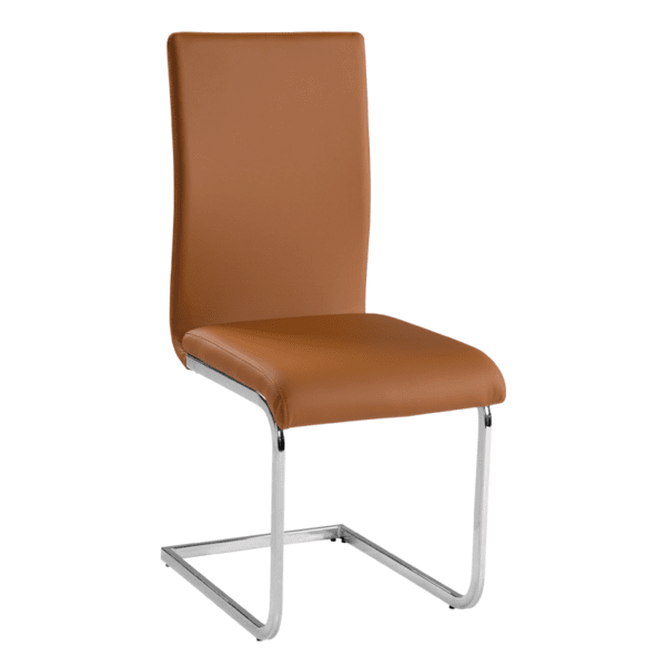 Трапезен стол Carmen 373 - тъмно оранжев