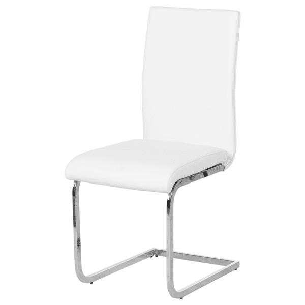 Трапезен стол Carmen 373 - бял