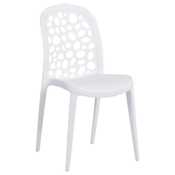 Трапезен стол Carmen 9940 - бял