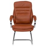 Посетителски стол Carmen 6154 - тъмно оранжев