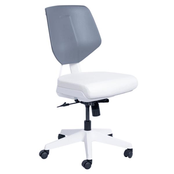 Работен офис стол SMART - бял AS