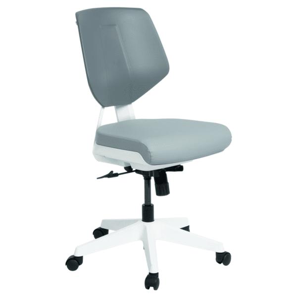 Работен офис стол SMART LUX - сив SIL