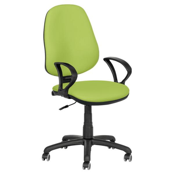 Офис стол Polo (с подлакътници) - резеда N