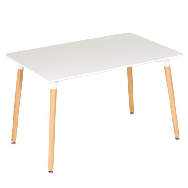 Трапезна маса Carmen Yasmin B 160 см x 90 см - бяла