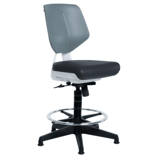Работен офис стол LAB - черен AS