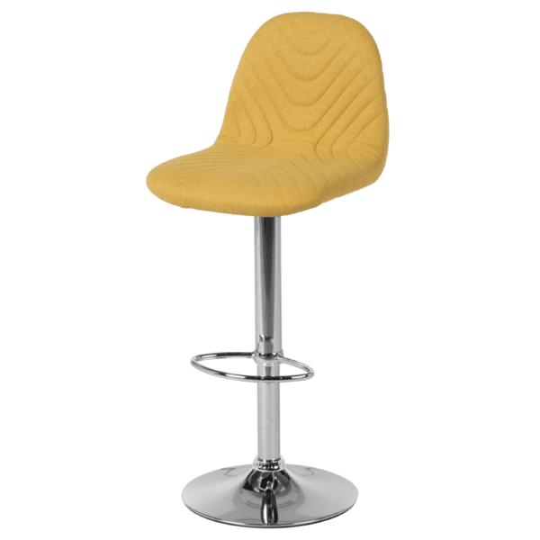 Бар стол Carmen 3085 - жълт