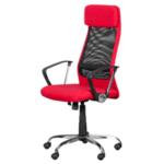 Президентски стол Carmen 6183 - червен