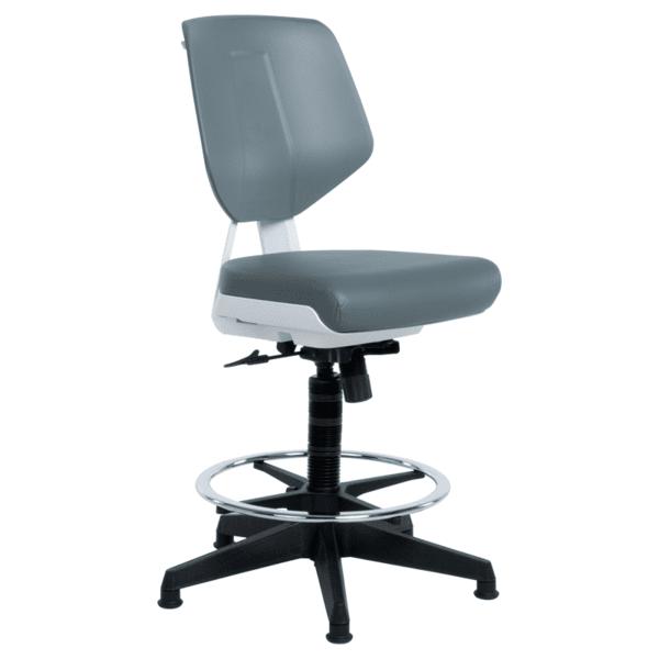 Работен офис стол LAB - сив AS