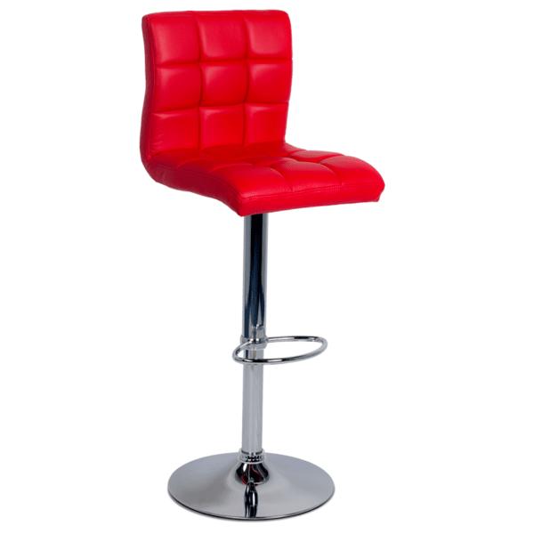 Бар стол Carmen 3063 - червен