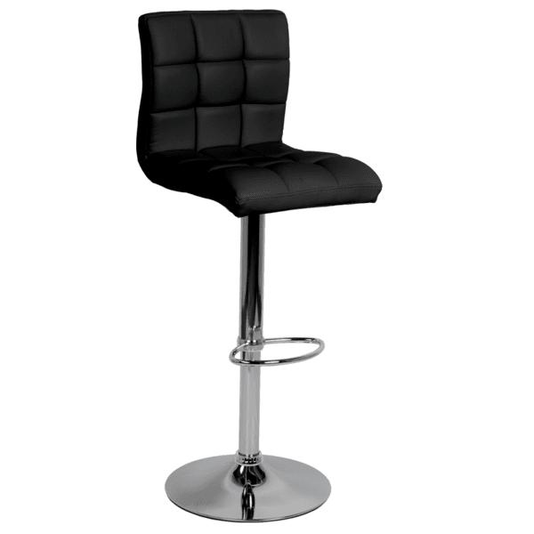 Бар стол Carmen 3063 - черен