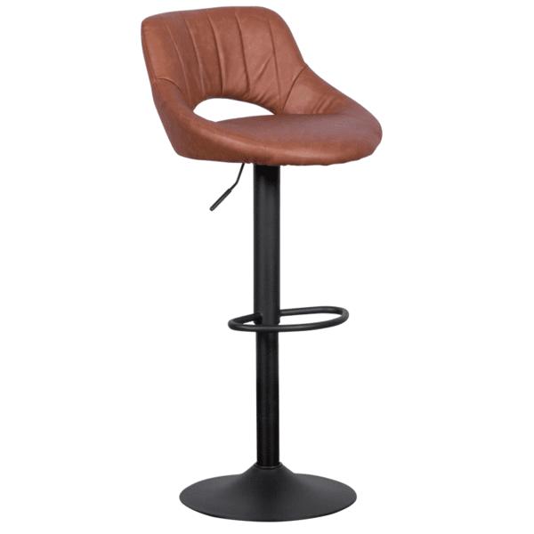Бар стол Carmen 3081 - кафяв