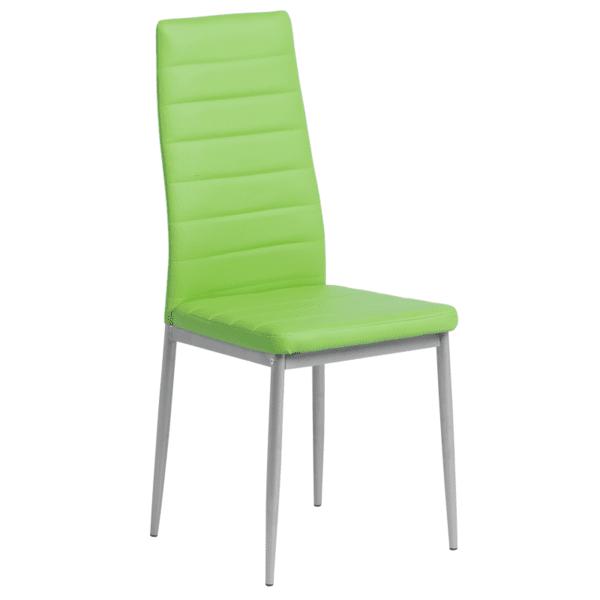 Трапезен стол Carmen 310 - ябълково зелен
