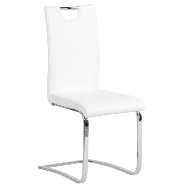 Трапезен стол Carmen 370 - бял