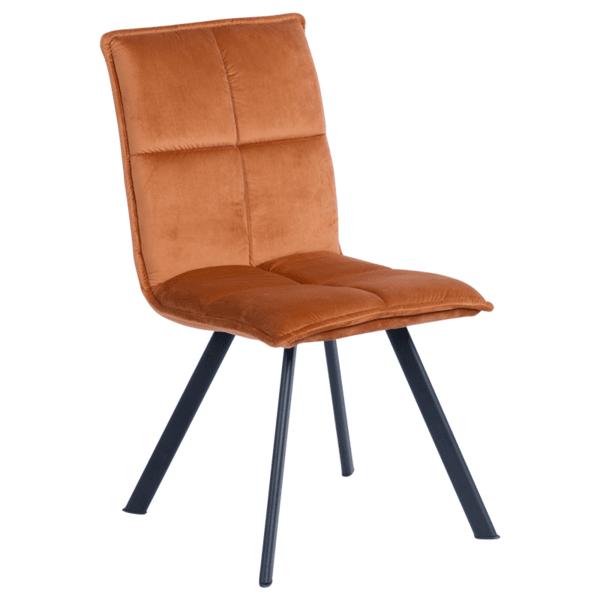 Трапезен стол Carmen 516 - оранжев