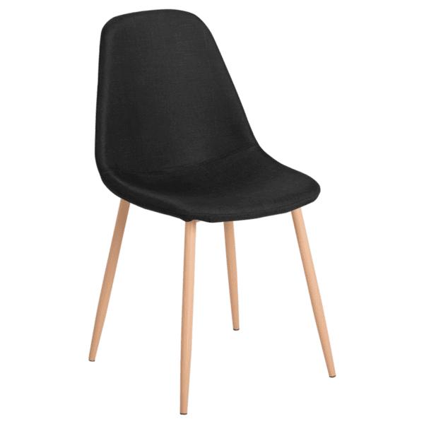 Трапезен стол Carmen 511 S - черен