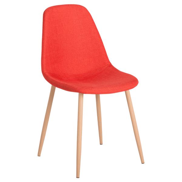 Трапезен стол Carmen 511 S - тъмно оранжев